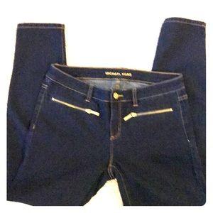 Blue skinny jeans by Michael Kors